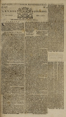 Leydse Courant 1796-04-11