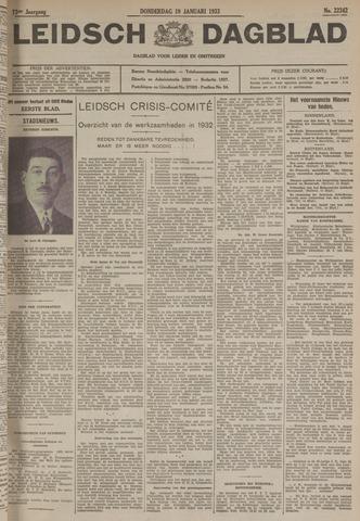 Leidsch Dagblad 1933-01-19