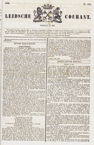 Leydse Courant 1876-05-12