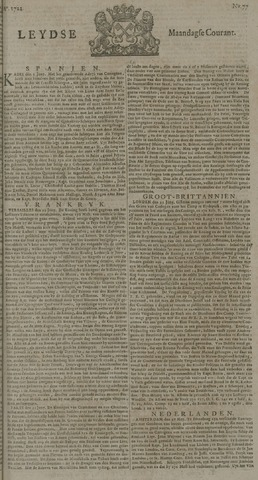 Leydse Courant 1722-06-29