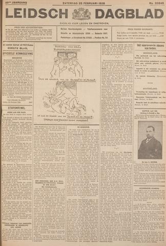 Leidsch Dagblad 1928-02-25