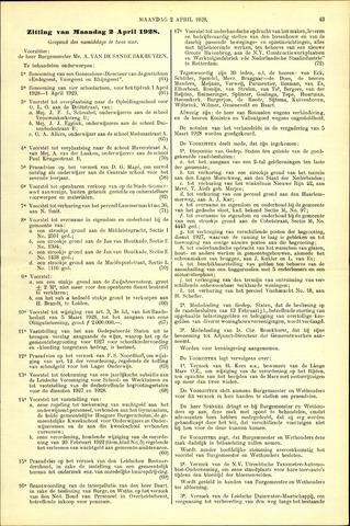 Handelingen van de Raad 1928-04-02