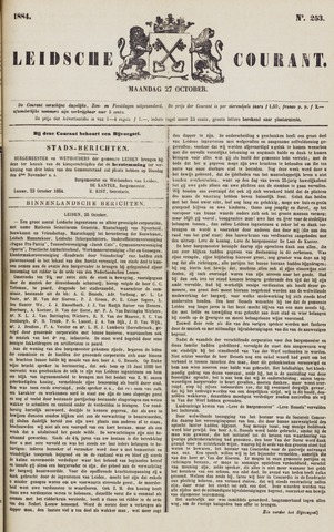 Leydse Courant 1884-10-27