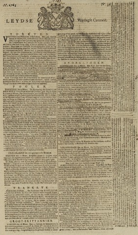 Leydse Courant 1763-03-25