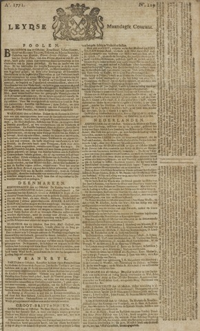 Leydse Courant 1771-10-28