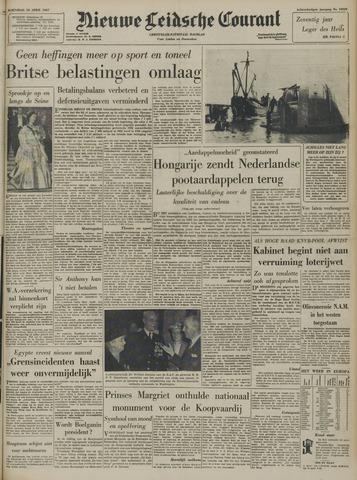 Nieuwe Leidsche Courant 1957-04-10