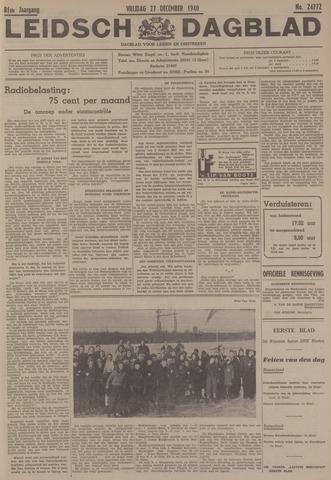 Leidsch Dagblad 1940-12-27