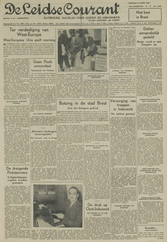 Leidse Courant 1950-04-18