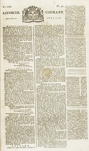 Leydse Courant 1826-07-31