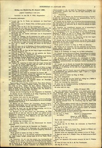 Handelingen van de Raad 1895-01-31