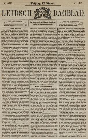 Leidsch Dagblad 1882-03-17