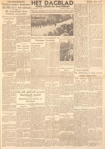 Dagblad voor Leiden en Omstreken 1944-02-28