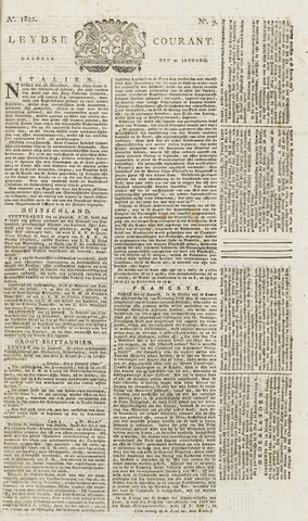 Leydse Courant 1822-01-21