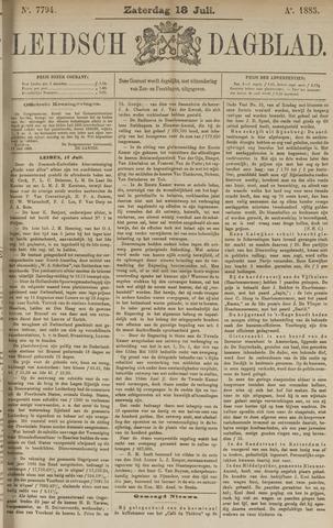 Leidsch Dagblad 1885-07-18