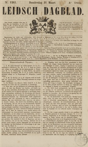 Leidsch Dagblad 1864-03-31