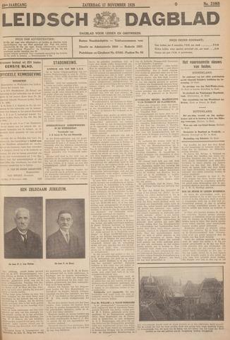 Leidsch Dagblad 1928-11-17