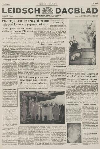 Leidsch Dagblad 1956-01-04