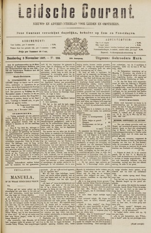 Leydse Courant 1887-11-03