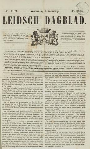 Leidsch Dagblad 1864-01-06