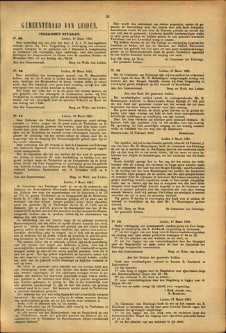 Handelingen van de Raad 1891-03-16