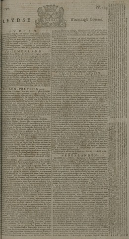 Leydse Courant 1740-10-26