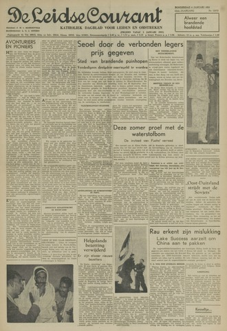 Leidse Courant 1951-01-04