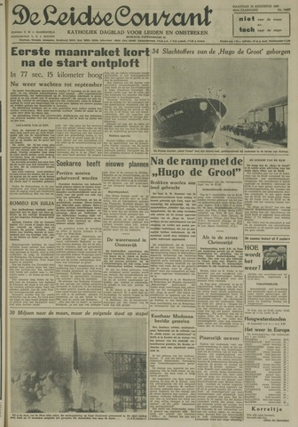 Leidse Courant 1958-08-18