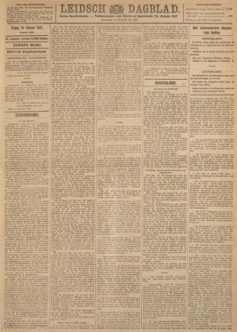 Leidsch Dagblad 1923-02-16