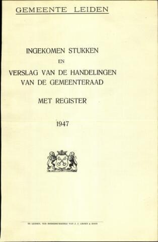 Handelingen van de Raad 1947-01-01