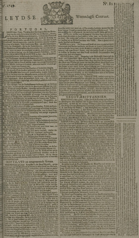 Leydse Courant 1749-07-09