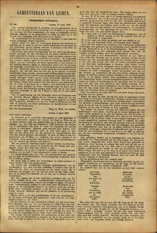 Handelingen van de Raad 1887-04-18