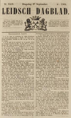 Leidsch Dagblad 1864-09-27