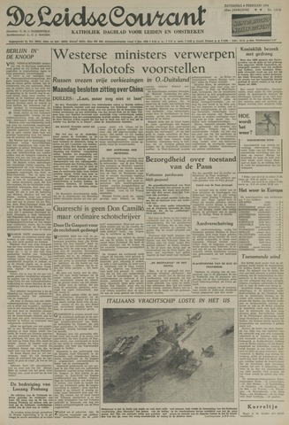 Leidse Courant 1954-02-06