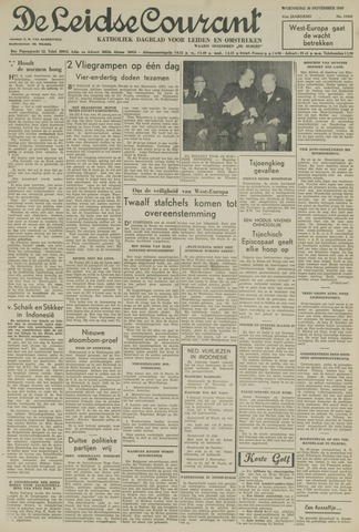 Leidse Courant 1949-11-30