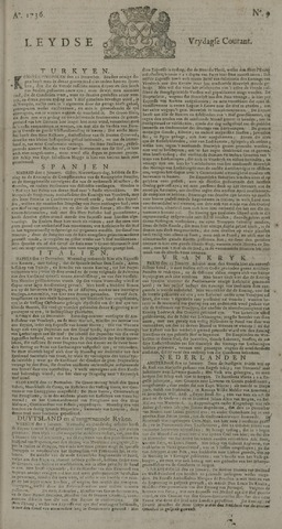 Leydse Courant 1736-01-20