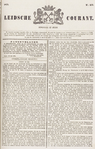Leydse Courant 1875-07-27
