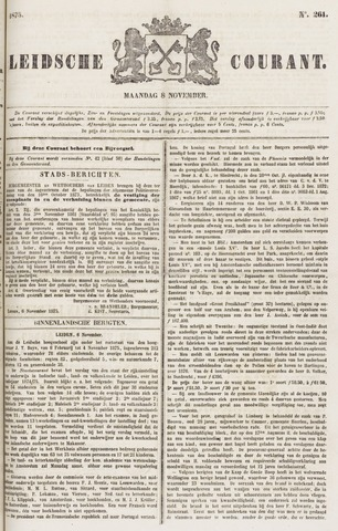 Leydse Courant 1875-11-08
