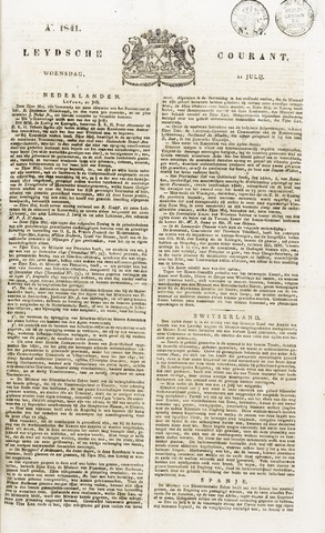 Leydse Courant 1841-07-21
