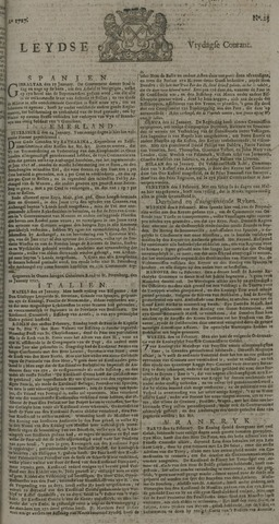 Leydse Courant 1727-02-21