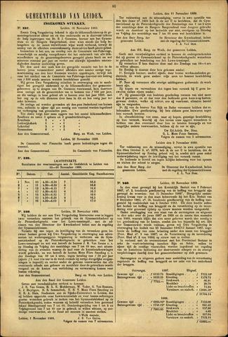 Handelingen van de Raad 1889-11-16