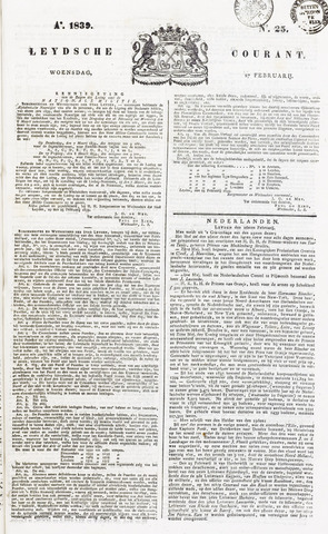 Leydse Courant 1839-02-27