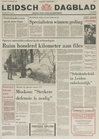 Leidsch Dagblad 1980-11-07