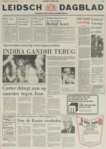 Leidsch Dagblad 1980-01-07