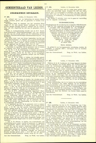 Handelingen van de Raad 1936-12-11