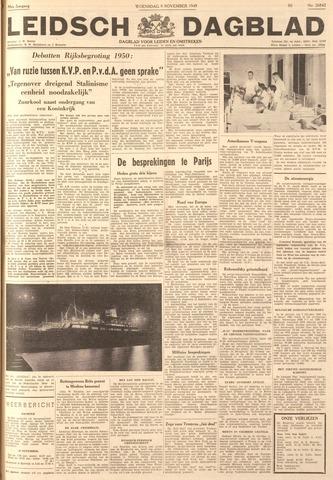 Leidsch Dagblad 1949-11-09