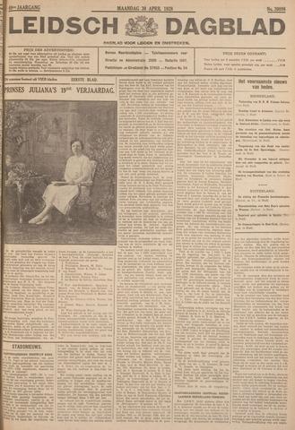 Leidsch Dagblad 1928-04-30