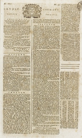 Leydse Courant 1817-07-30