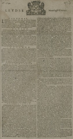 Leydse Courant 1734-11-15