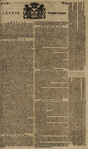 Leydse Courant 1779-08-06