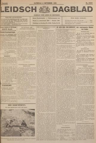 Leidsch Dagblad 1930-09-06
